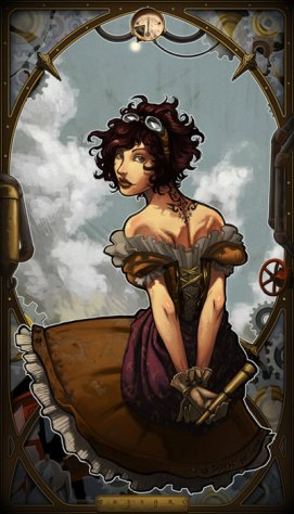 steampunk_girl_color_by_Darsim