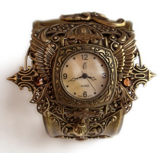 steampunk_watch_cuff___floral3_by_aranwen