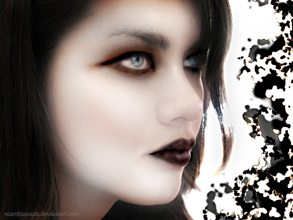 gothic women wallpaper