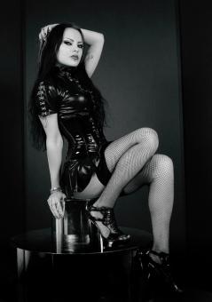 Black Fishnet Stockings