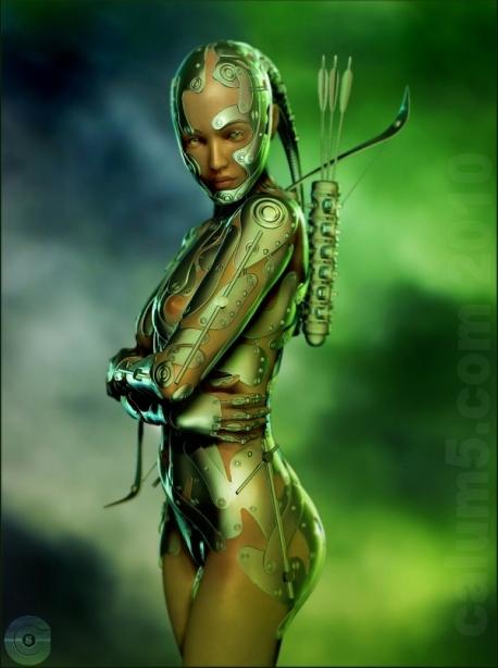 The Archer By Calum5
