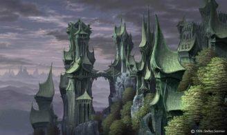 Castle of Rivendell by Steffen Sommer