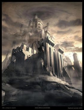Dark Castle by Raphael Lacoste