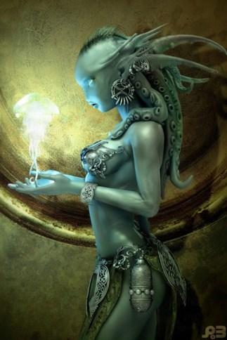 Mermaid by Pascal Blanché