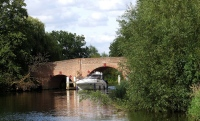 Sonning Bridge Over The River Thames