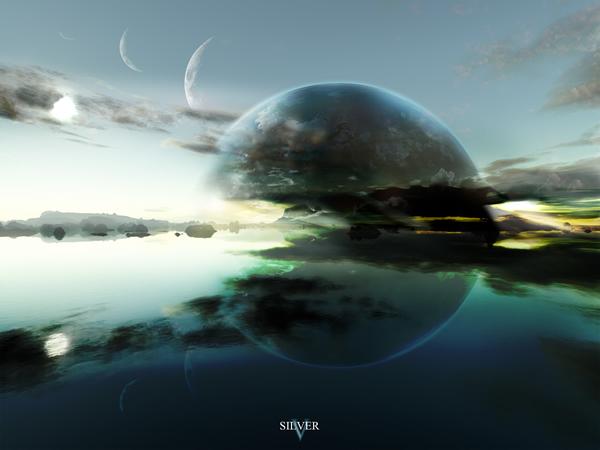 Terragen___Silver_by_tigaer