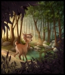 Fauna In The Forest
