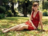 Alexis Bledel Red Dress