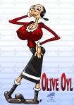 UberBoober Olive Oyl
