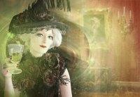 The Green Absinthe Fairy