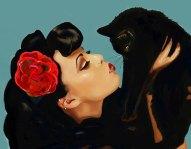 Asia And Kitten