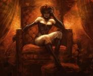Black Queen By AlexGarner