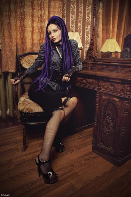Violet Dreads