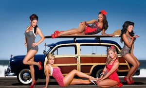 Five Girls And A Woodie