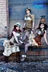 Steampunk Ladies VI