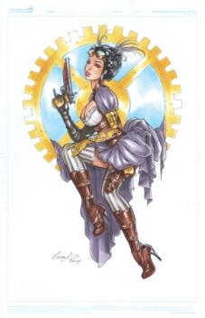 Lady Mechanika By Elias-Chatzoudis