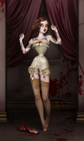 The Butchers Bride By SubversiveGirlArt