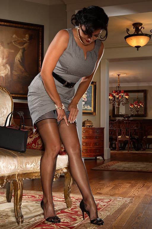Silk Stockings By Secrets in Lace | Boyofbows Weblog