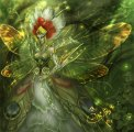 Green Queen Faery