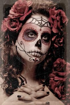 Dia De Los Muertos By Virtualgirl6654