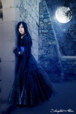 Fairy Moon By Daniel Fabre-Demercoeur