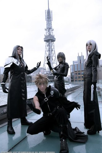 Final_Fantasy_VII_Group_by_Yukilefay