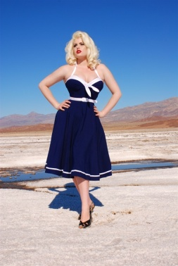 Sailor Swing Dress
