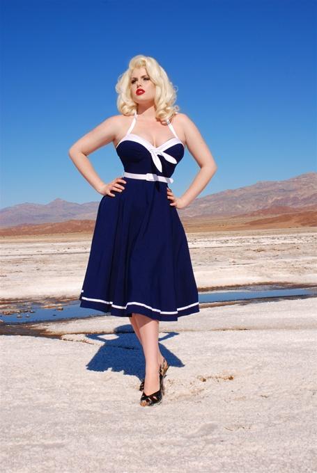 Sailor Swing Dress