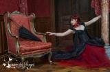 Long Victorian Jacquard Corset