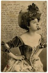 Old French Postcard