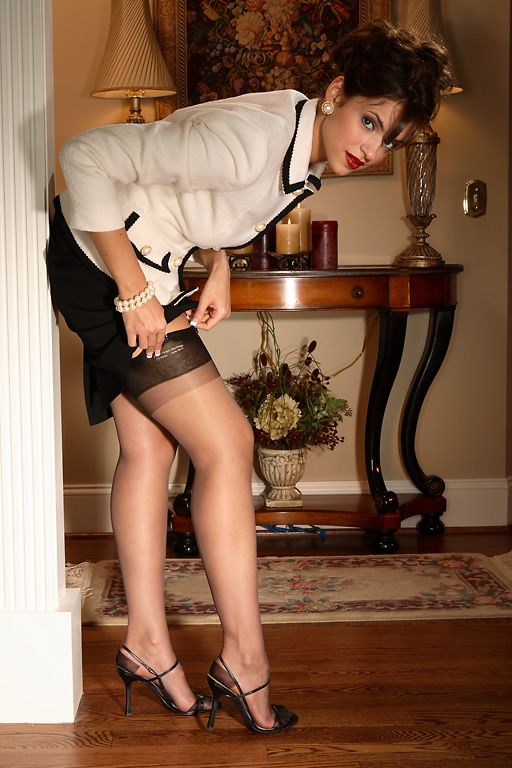 French Luxury Stockings, Nylon and Silk Stockings