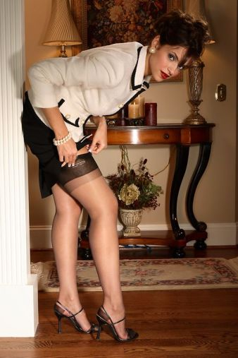Silk Stockings IX