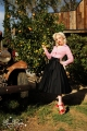 Audrey Long Skirt In Black