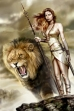 Warrior And Lion