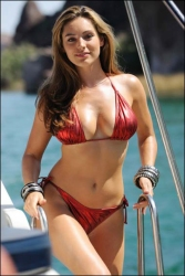 Ruby Red Bikini