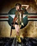 Military Pinup