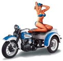 Motorcycle Pin-Up VII