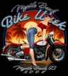 Motorcycle Pin-Up VIII