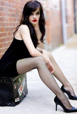 Gothic Girl Waiting