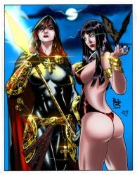 Magdalena And Vampirella