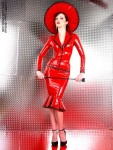 Red Latex Lady (4)