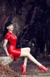 Red Latex Lady (6)