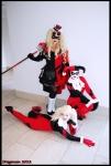 Three Harley Quinns