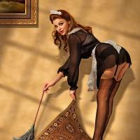 A Crisp Swish Of Stockings