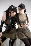 Cynda And Fuchsia Military Fashion Show