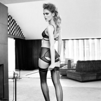 A Crisp Swish Of Stockings