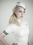 Ancilla Tilia In Latex Uniform