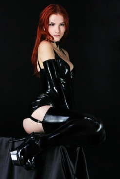Luscious Lusty Latex Ladies (11)