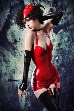 Luscious Lusty Latex Ladies (18)