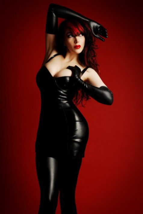 Luscious Lusty Latex Ladies (10)